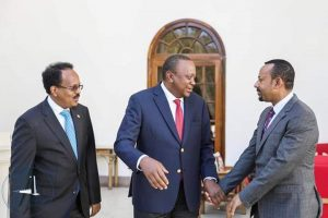 Somalia and Kenya agreed to restore diplomatic relations