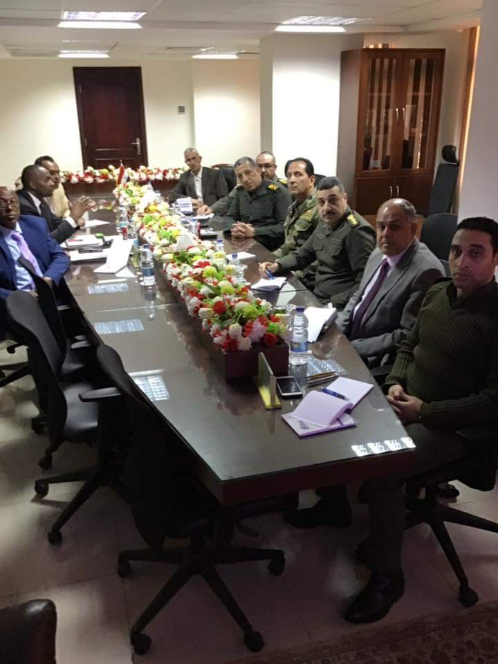 Somaliland delegation had a series of meetings with high ranking military officers from the Egyptian defence ministry
