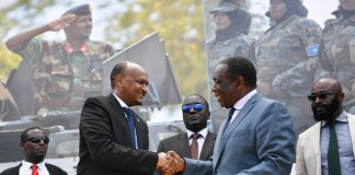 AMISOM hands over top military academy to Somali government