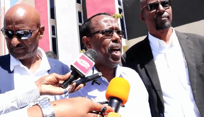 NEC chairman Eng. Abdiqdir Iman Warsame