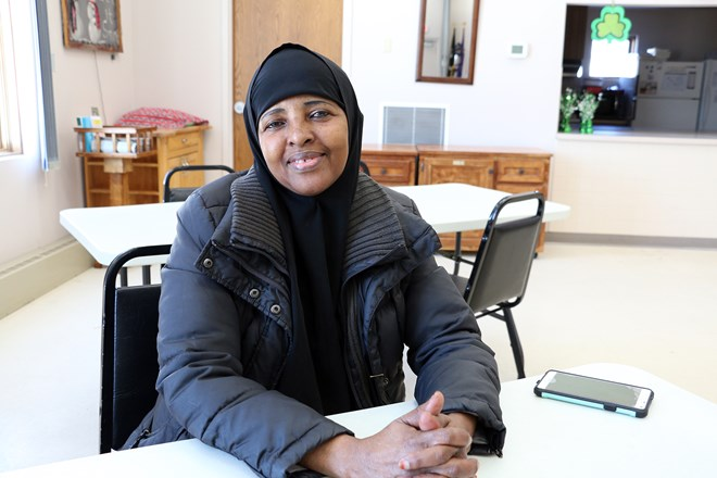 Nasteho Osoble moved from Somalia to Barron, Wis. in 2013. She became a U.S. Citizen in October 2018. Rich Kremer/WPR