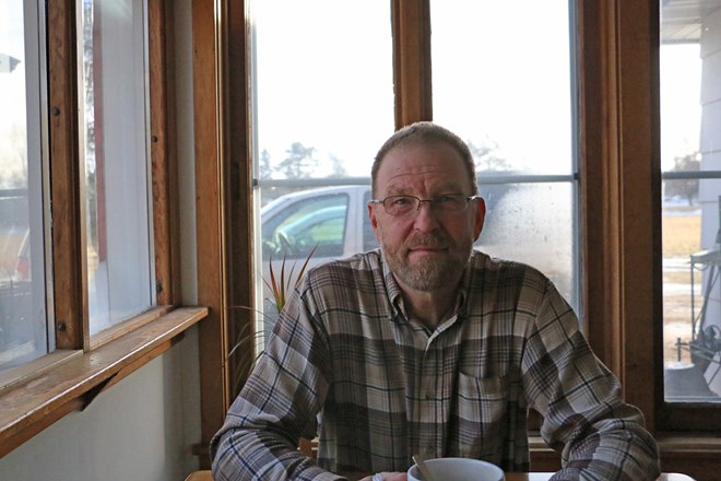 Paul Solie, a Barron, Wis. native, decided to run for city council after noticing a lack of participation in local government. Rich Kremer/WPR