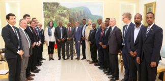 Somaliland President Muse Bihi Abdi Receives High level Delegation of International Partners
