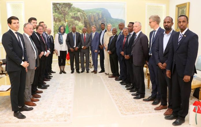 Somaliland President Muse Bihi Abdi Receives High level Delegation of International Partners