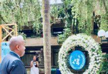 Somaliland Representative to Kenya Bashe Awil Omar attends 25th Commemoration of The Rwanda Genocide