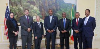 Somaliland President Muse Bhi Abdi Receives US Ambassador to Somalia Donald Yamamoto