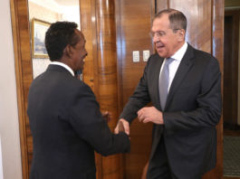 Somalia and Russia affirm their keenness to strengthen bilateral relations