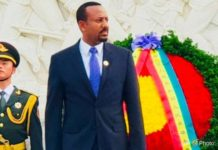 PM Dr Abiy Arrives To China To Attend BRI Forum