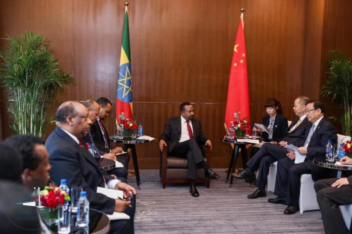 Ethiopia PM Meets with the Leadership of the China Railway Construction Corporation