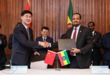 Ethiopia, China Ink Investment Agreement Worth 1.8 billion USD