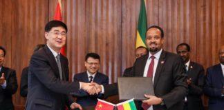 Ethiopia, China Ink Investment Agreement Worth 1.8 billion USD