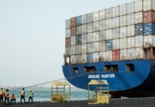 The terminal is an essential facility for supplies to neighbouring landlocked Ethiopia The terminal is an essential facility for supplies to neighbouring landlocked Ethiopia AFP/File