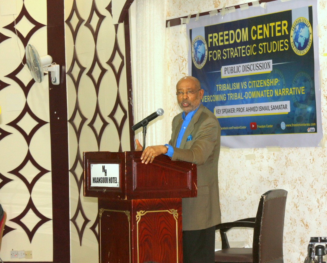 The Dean of Global Citizenship, Macalaster College, Prof Ahmed I. Samatar was the key note Speaker.