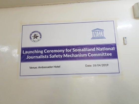 Somaliland national mechanisms for safety of journalists