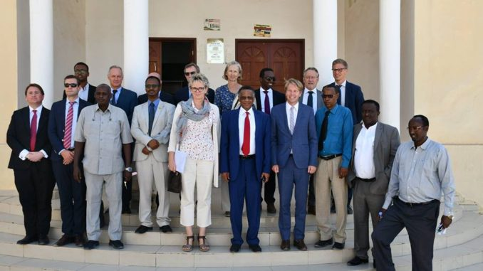 EU Delegation led by Denmark Ambassador Mette Knudsen today meets with Speakers of Somaliland House of representatives