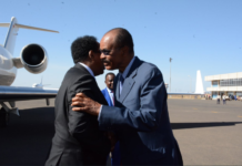 Somalia President Arrives in Asmara for a working visit