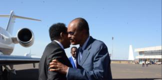Somalia President Arrives in Asmara for a working visit