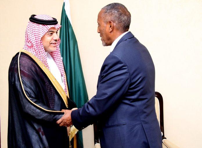 Somaliland President Receives Saudi ambassador to Somalia