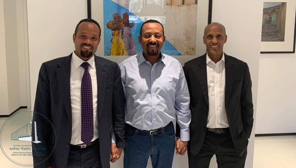 The Prime Minister of Ethiopia, Abiy Ahmed met with the leader of Somali regional state Mustafa Mohamed Omar and Ahmed Shide  Ethiopian-Somali People's Democratic Party (ESPDP)