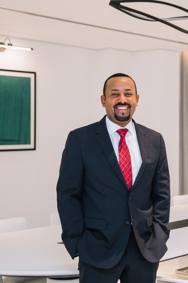 UNESCO awarded Prime Minister Abiy Ahmed the Félix Houphouët-Boigny Prize for Peace for his commendable work in pursuit of peace.