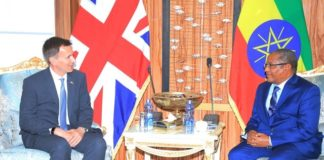 Ethiopia, UK Commit to to Deepen ties based on a long tradition of cooperation