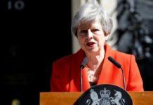 Theresa May announces her resignationGetty