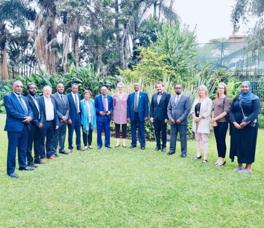 Somaliland delegation meets with International Partners in Nairobi