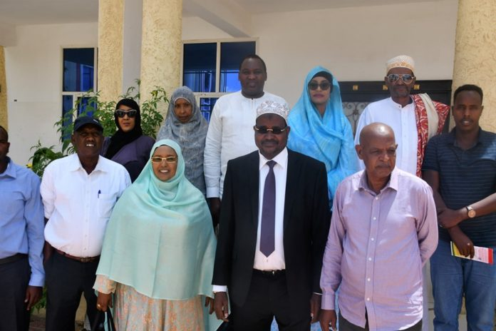 large delegation of Kenyan MPs arrives Somaliland