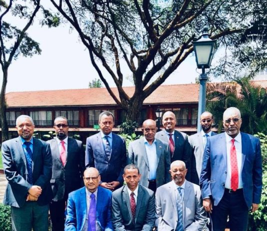 Dr. Mohammed Ali Guyo, IGAD Special Envoy for Horn of Africa met with the Somaliland political parties leaders in Nairobi
