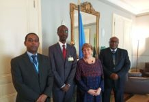 A High-Level Ethiopian delegation Meets UN Rights Chief========================