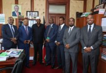 Somaliland Delegation Meets with Kenya's National Assembly Majority Leader