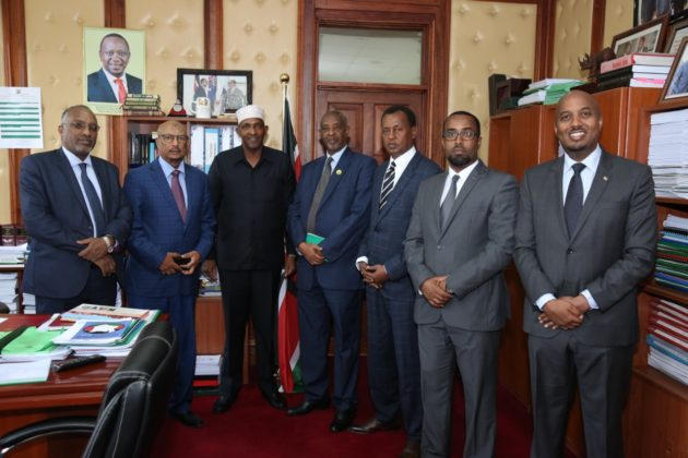 Somaliland Delegation Meets with Kenya's National Assembly Majority Leader
