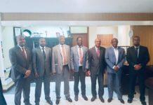 Somaliland Delegation Meets with former Kenyan PM Raila Odinga