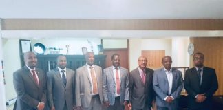 Somaliland Delegation Meets with former Kenyan PM Raila Odinga