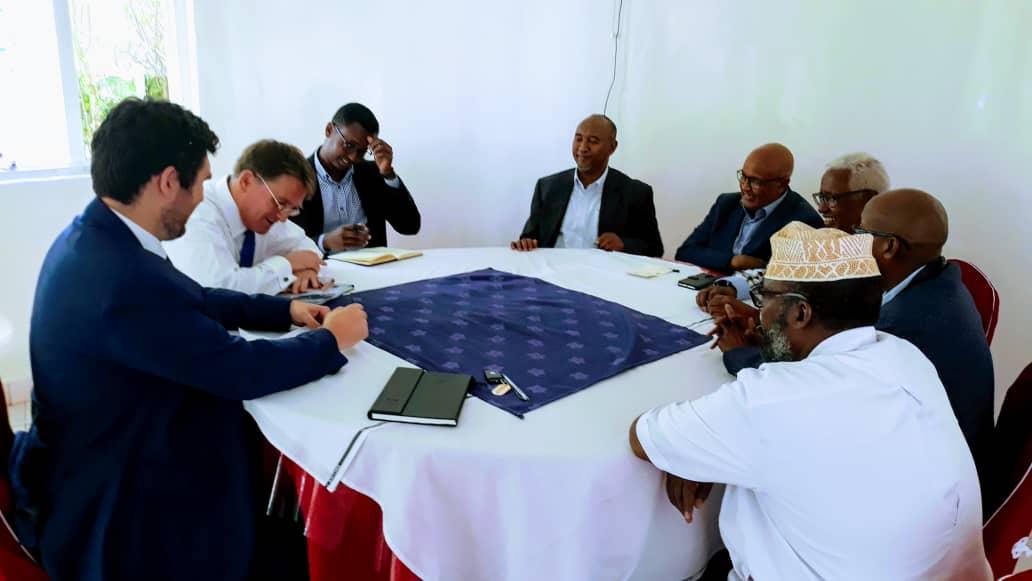 Somaliland: Waddani Leader Meets with UK Ambassador to Somalia