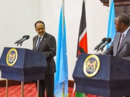 Relations between Kenya and Somalia has soured in the recent months amid the expected outcome of the maritime verdict at the ICJ. Photo: PSCU