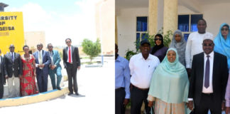 Heavyweight Delegation of Uganda and Kenya arrives in Somaliland
