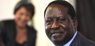 Former Prime Minister Raila Odinga FILE