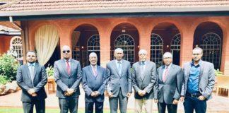 Somaliland FM Meets with Executive Secretary of IGAD and Kenyan Secretary of Trade
