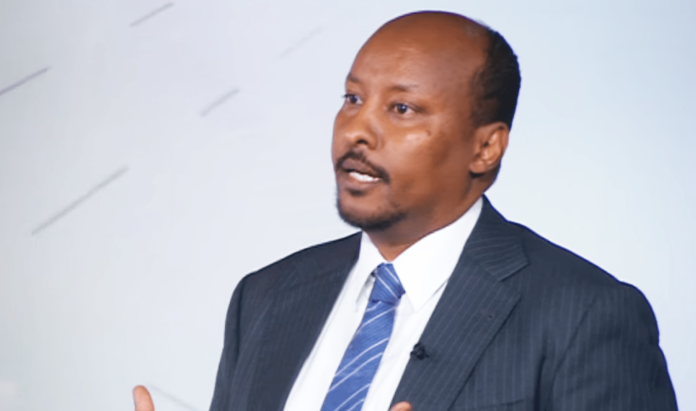 Mr Abdirashid Mohamed Said Dualeh, the CEO of Dahabshiil group of companies