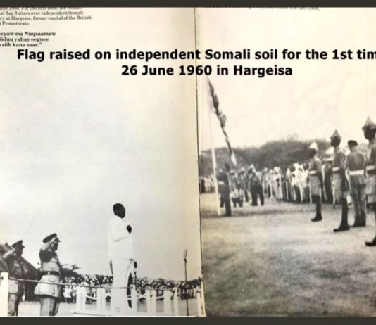 Somaliland's 59th Anniversary of Independence and its Significance Our felicitations on 26 June 2019