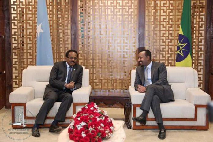 Ethiopia, Somalia Leaders Hold Bilateral Discussion in AddisAbaba