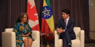Ethiopia, Canada Vow to Strengthen Bilateral Ties