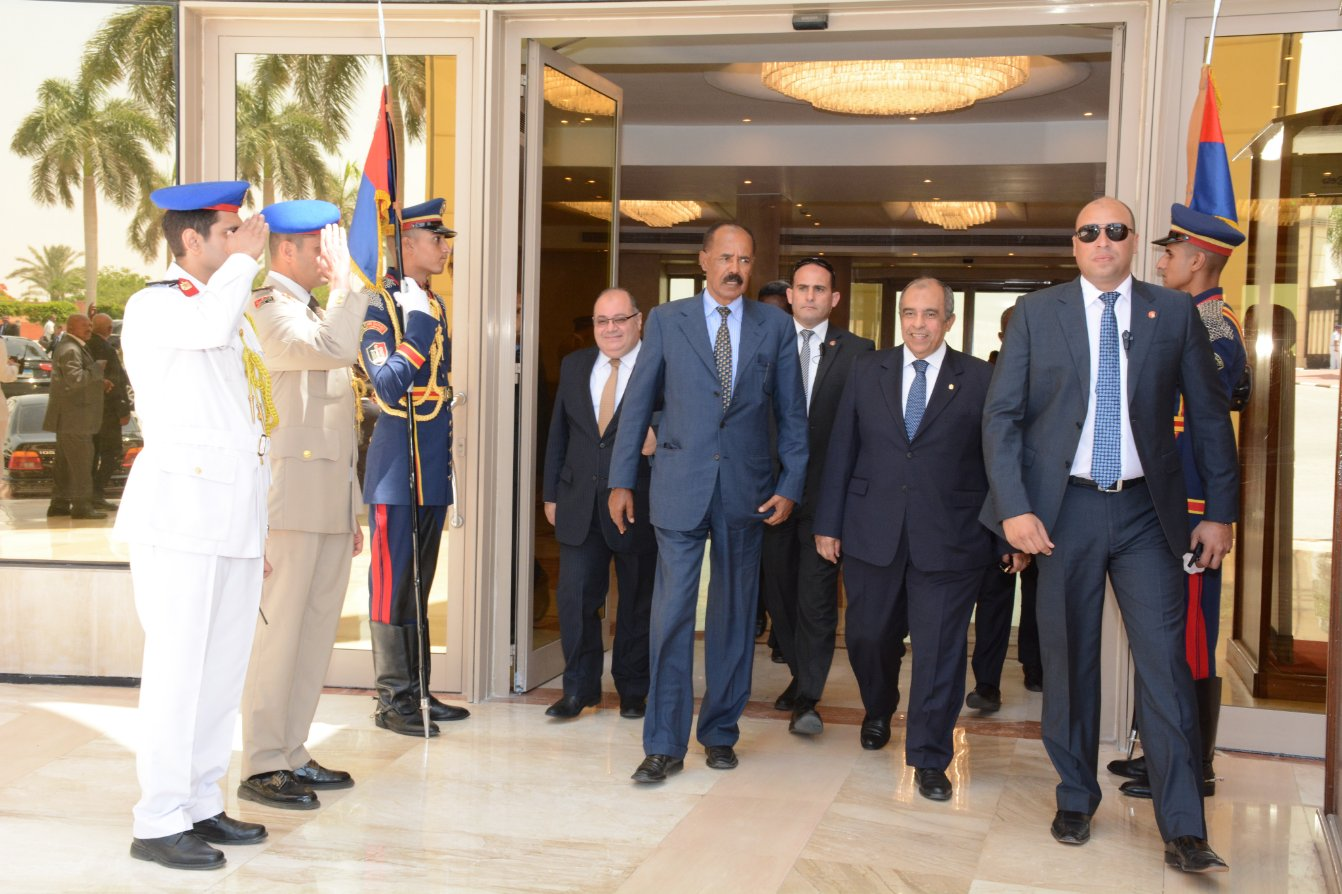 Eritrea,Egypt leaders discuss bilateral relations and regional cooperation