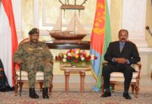 Chairman of TMC of Sudan arrives in Asmara for High level talks