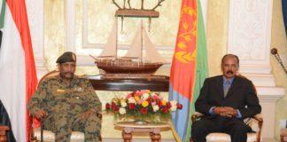 Chairman of TMC of Sudan arrives in Asmara for High level talks