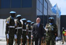 NEW UN Special Representative for Somalia arrives in Mogadishu