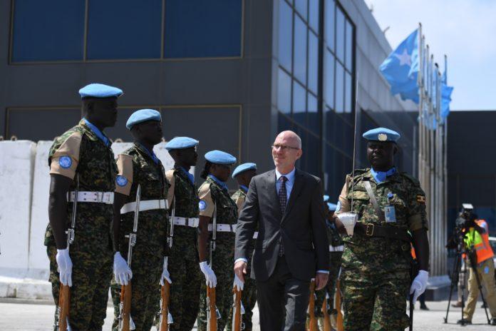 NEW UN Special Representative for Somalia arrives in Mogadishu