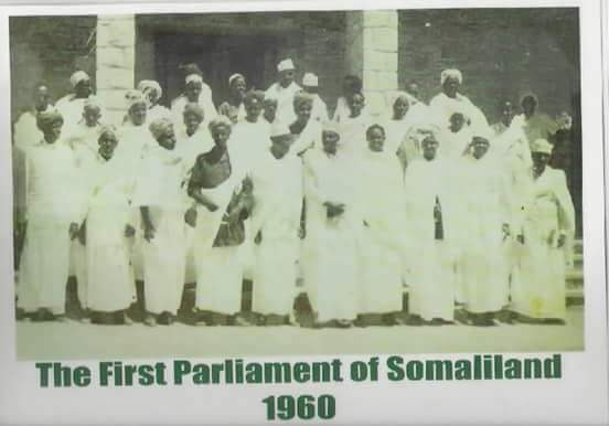 Somaliland British Protectorate first Parliament photo group