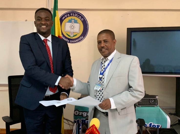 Somaliland Ministry of Energy signs MOU with Mekkele university